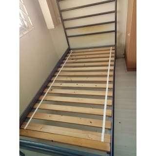 Single Bed frame ($50 Self Collect @ Woodlands)