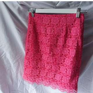 Review - Pink Lace Skirt (Size 6) $30