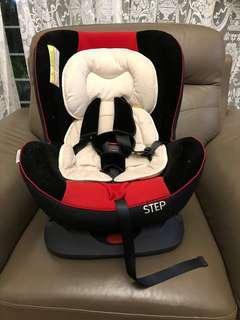 Koopers Step Convertible Car Seat