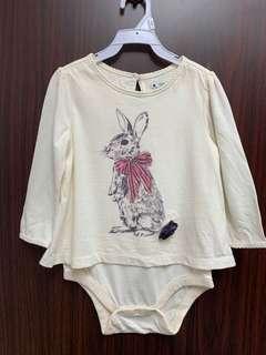 全新Baby gap 兔仔樓質包pat 夾衣(6-12m)送平郵
