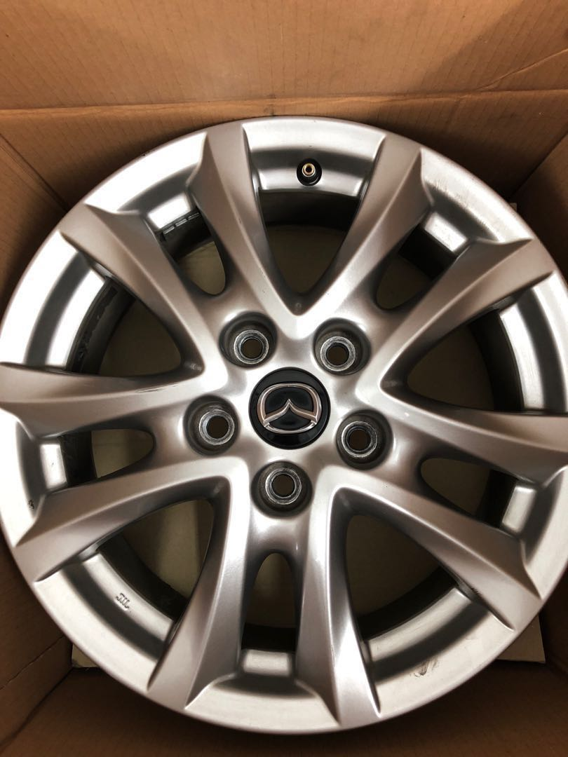 Mazda 3 Rims >> Mazda 3 2015 4 X Original 16 Rims Car Accessories Tyres Rims