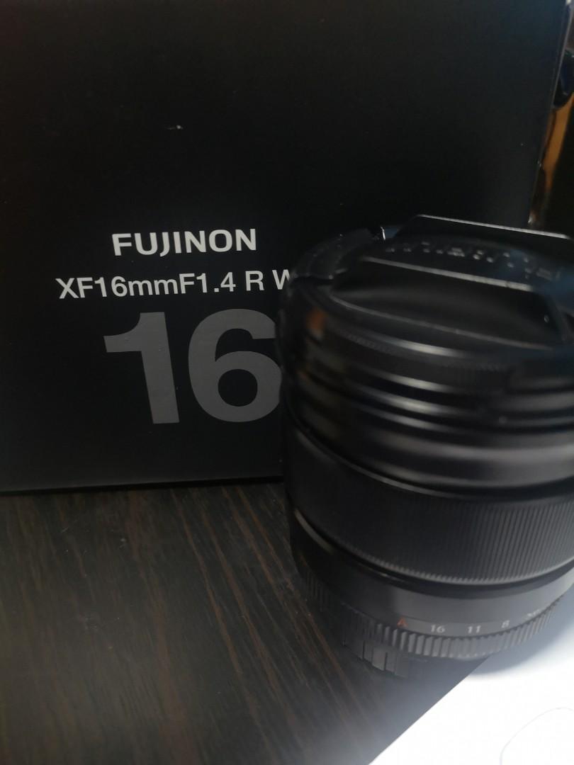 放99%新Fujinon Lens XF16mm F1.4 R WR 行貨