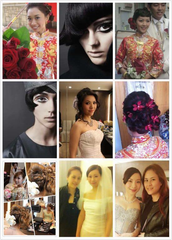 新娘化妝造型服務(全日服務)