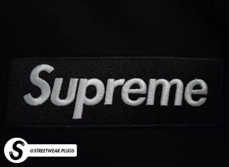 "AAA+ Quality // Supreme ""Black on Black"" Box Logo Hoodie (BOGO) (FW17) (BRAND NEW)"