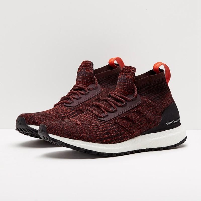 sale retailer 66ed7 230b8 Adidas Ultra Boost ATR Mid Burgundy, Men's Fashion, Footwear ...