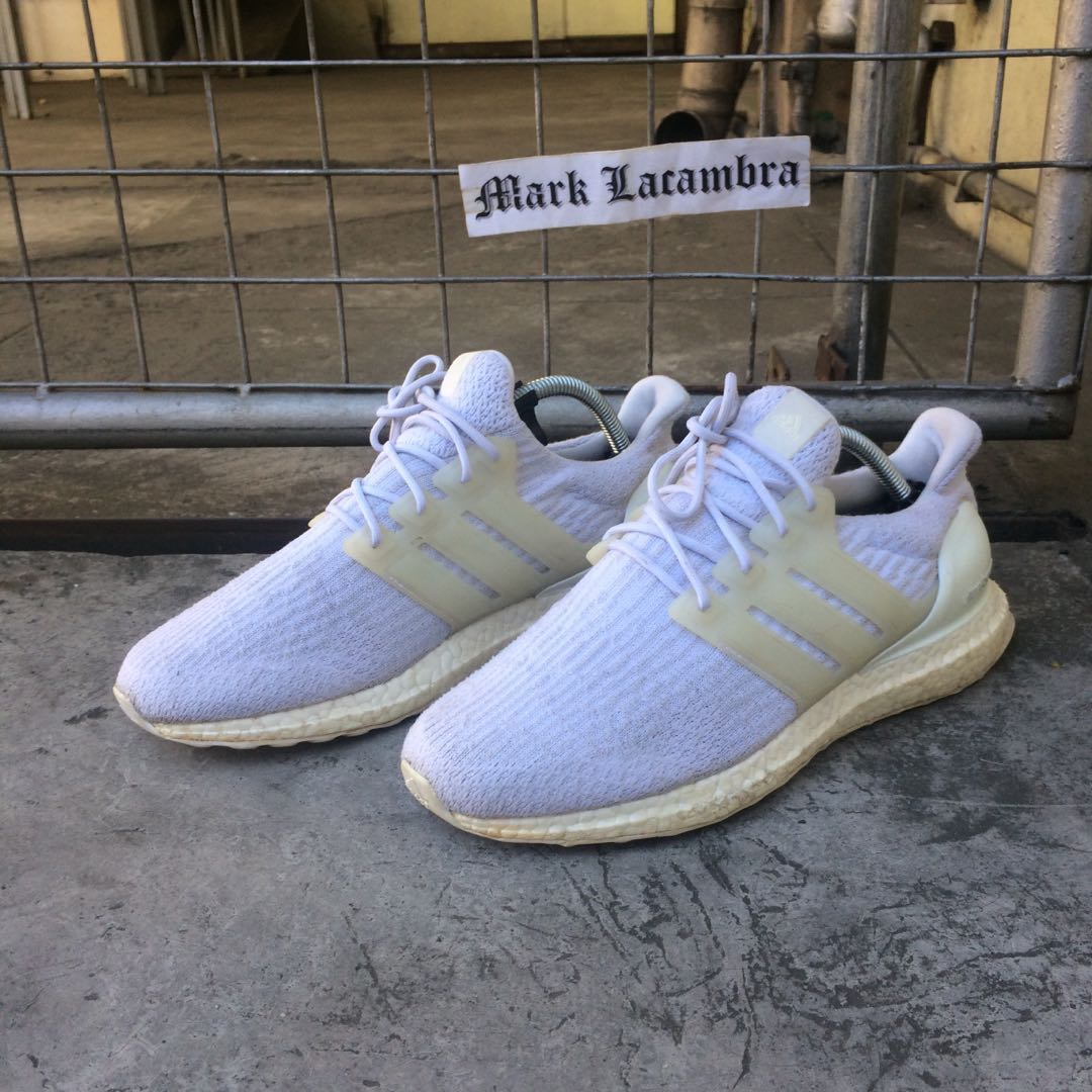 2c1105461 Adidas Ultra boost v3 triple white