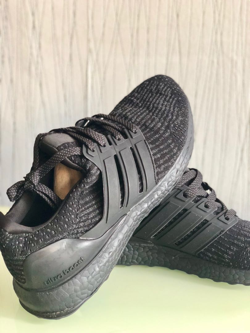 newest collection 82e29 3f638 Adidas ultraboost Black size us 10 uk 9.5 fr44, Sports, Sports ...