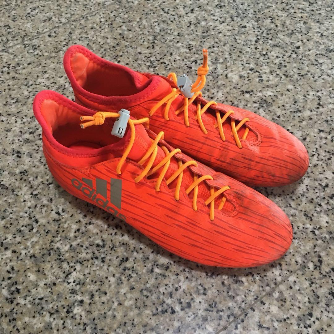 a25d164f212e Adidas X 16.3 Soccer Boots (Boys), Sports, Sports Apparel on Carousell