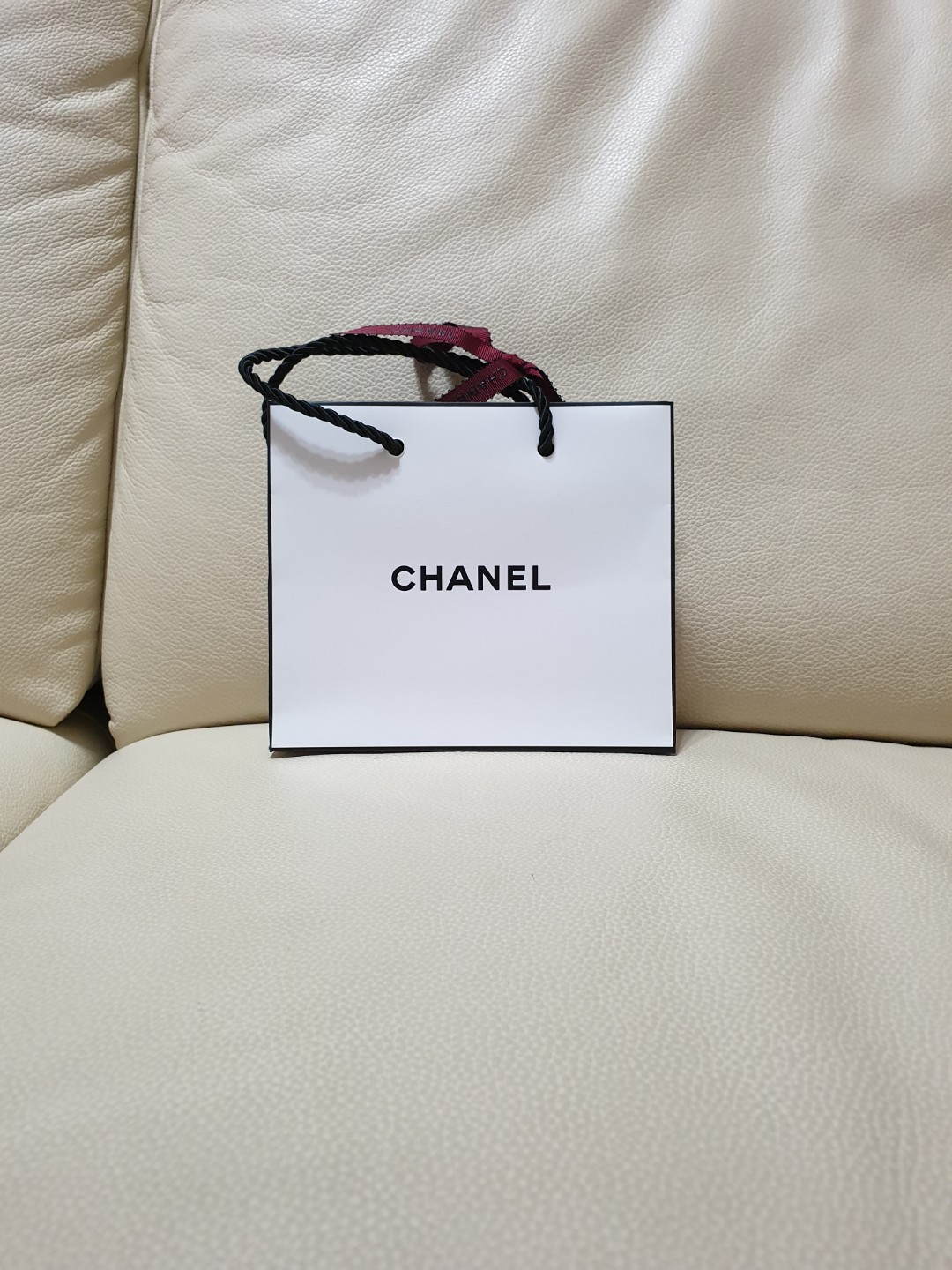 6d50214e8c5e Authentic Chanel paper bag, Luxury, Bags & Wallets, Others on Carousell