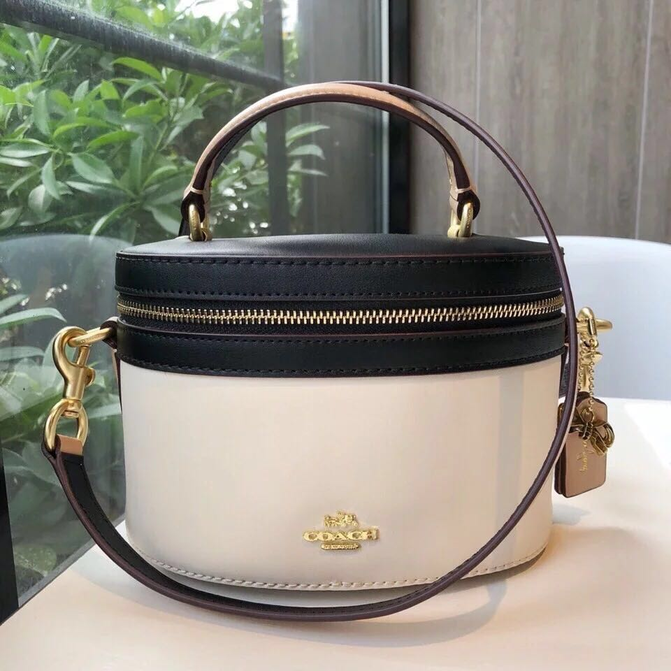 8f26dd1ef7 AUTHENTIC COACH SELENA TRAIL BAG IN COLOR BLOCK ( F 39291 )
