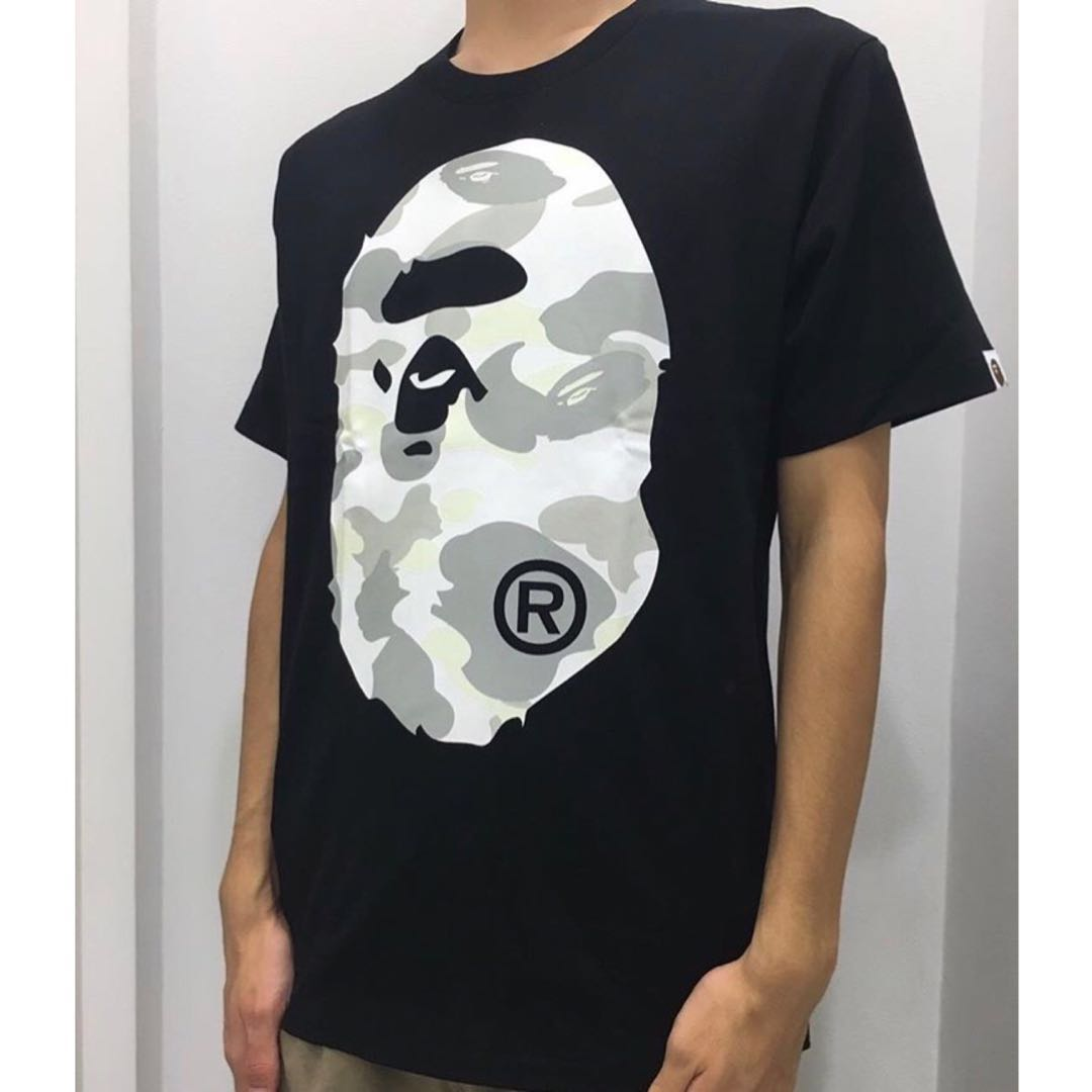 dd6428e781e5 BAPE CITY CAMO BIG APE HEAD TEE