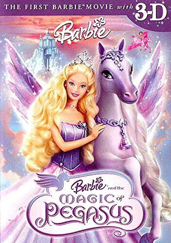 BARBIE MAGIC PEGASUS' MOVIE DVD, Music & Media, CDs, DVDs