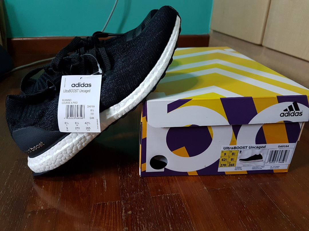 306a8df432d6 BNIB Adidas ultra boost uncaged (Men) - carbon Black
