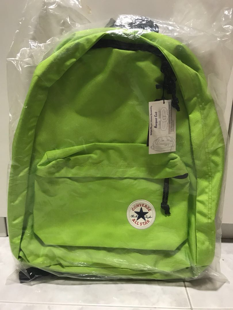 BNWT Lime Green Converse Backpack, Women s Fashion, Bags   Wallets ... b9b89d88c6
