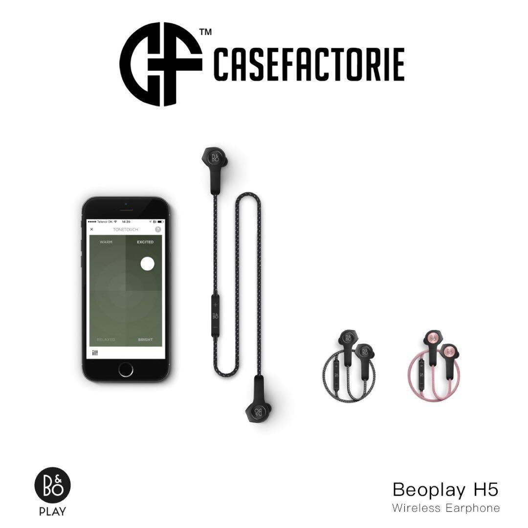 B&O Play Beoplay H5 Bluetooth Wireless Earphone