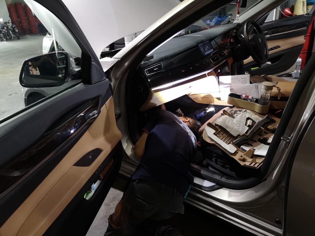 Car Aircon servicing (a/c flush)