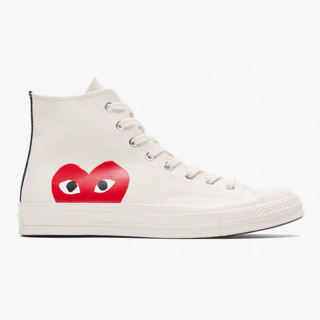 5c3bfad62 CDG X Converse, Men's Fashion, Footwear, Sneakers on Carousell