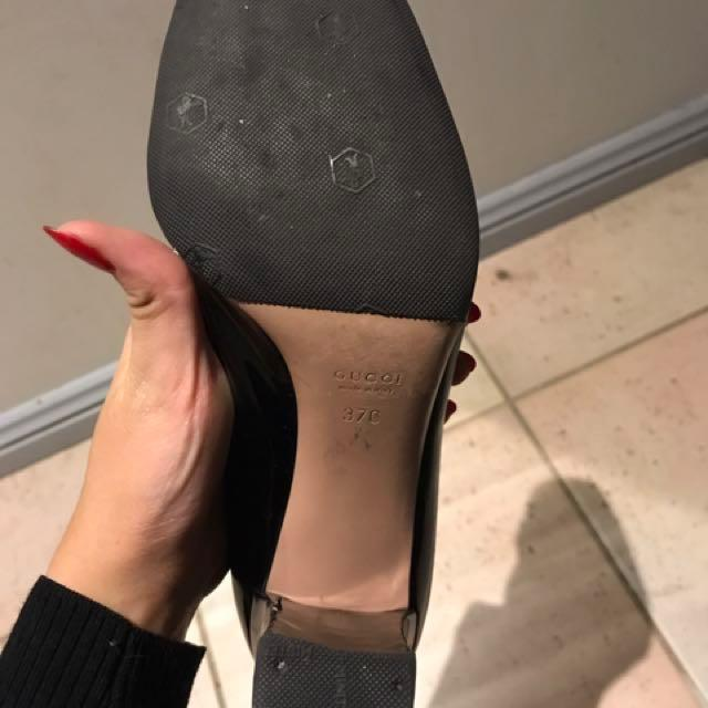 Classic Heeled Gucci Loafers