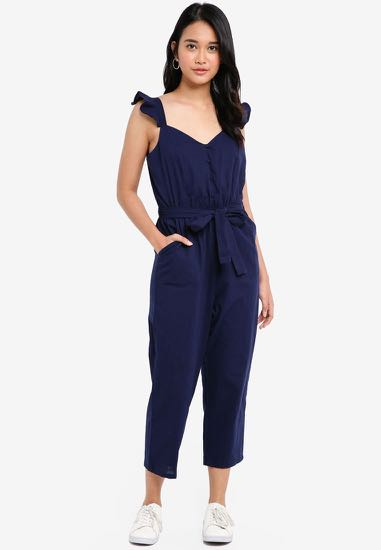 33ff30406f00 Cotton On Woven Flo Tapered Jumpsuit
