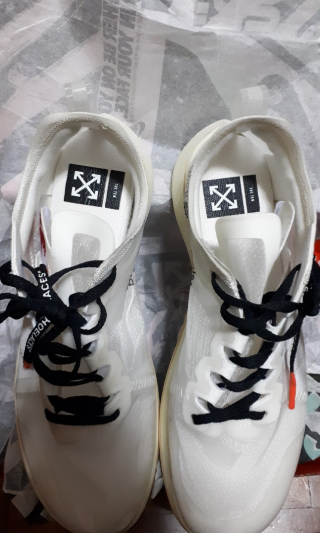 ce6d789a8  Fits US9  UA Grade OW Zoom Fly