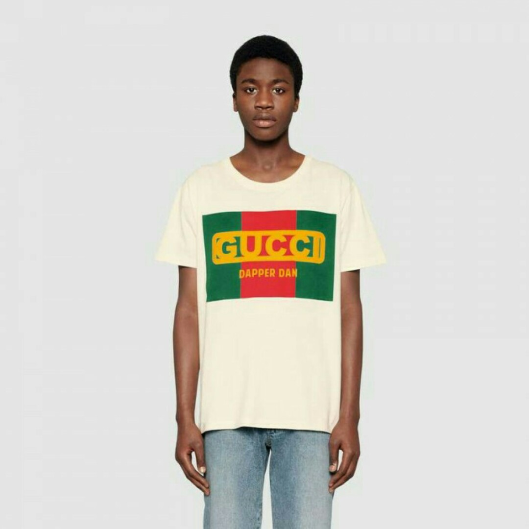 ca092019 GUCCI Dapper Dan Tshirt, Women's Fashion, Clothes, Tops on Carousell