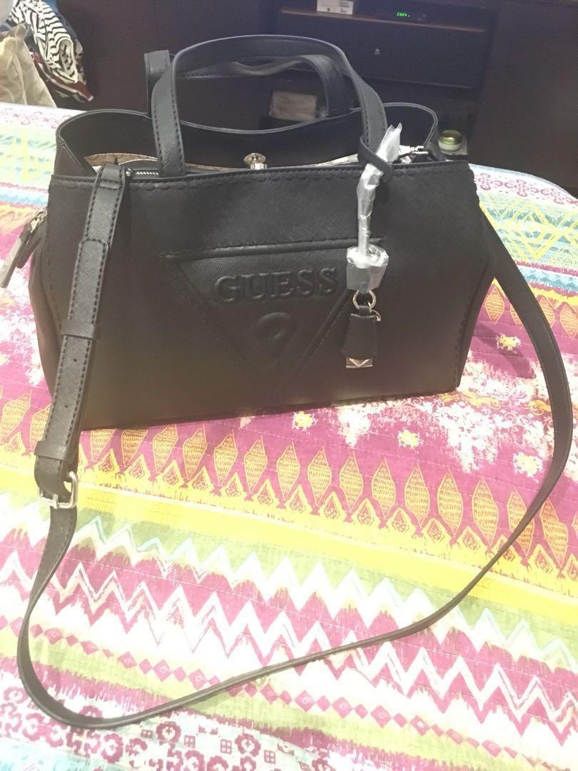 c8ae326b94 GUESS Coal Sailorette Crossbody Handbag