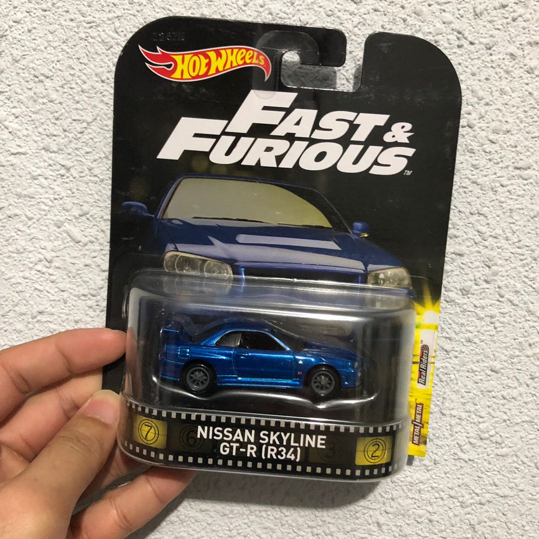 Hot Wheels Nissan Skyline R34 Toys Games Others On Carousell
