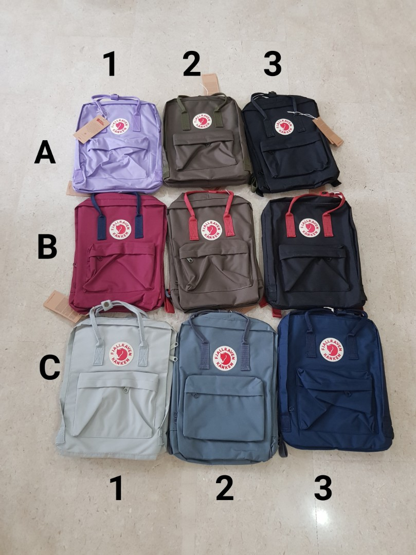 Instock Bnwt Kanken Bag Fjallraven Men S Fashion Bags Wallets Backpacks On Carou