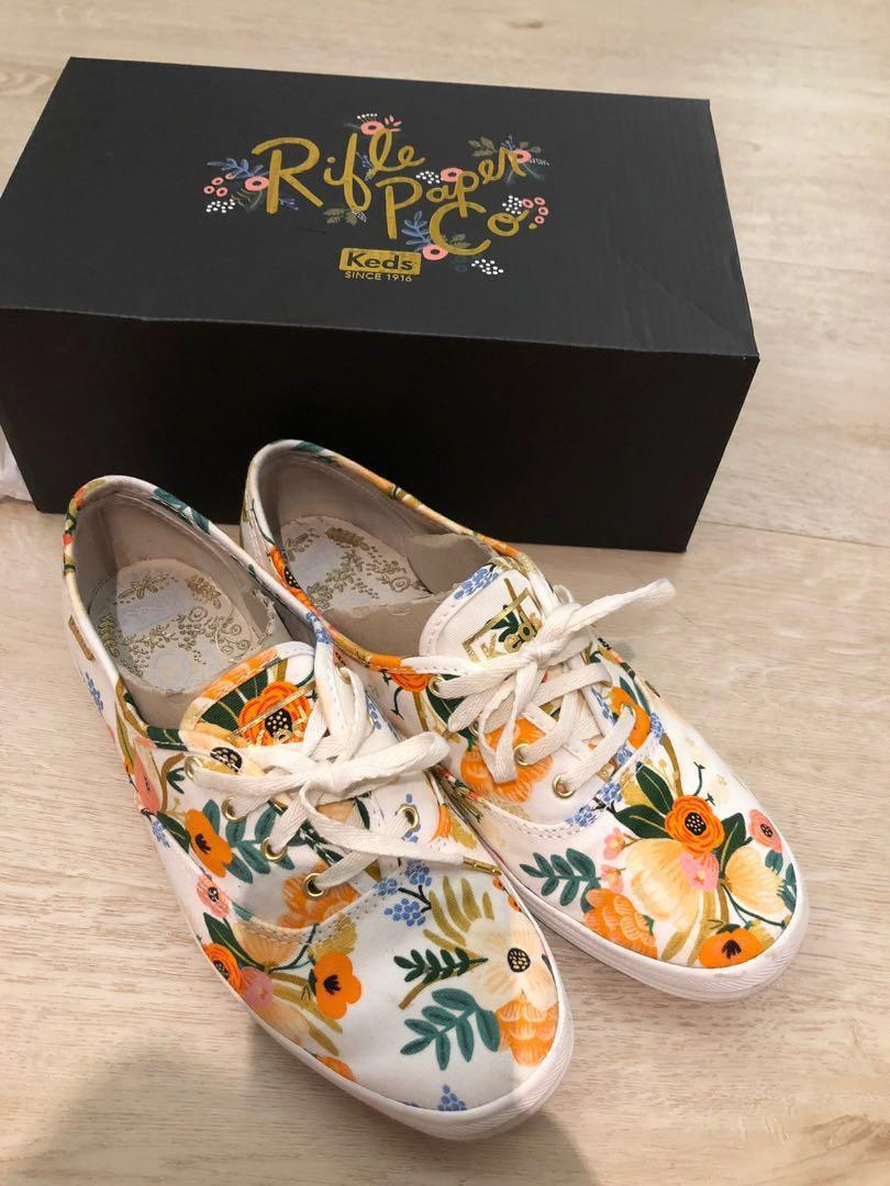 Keds floral shoes, Women's Fashion