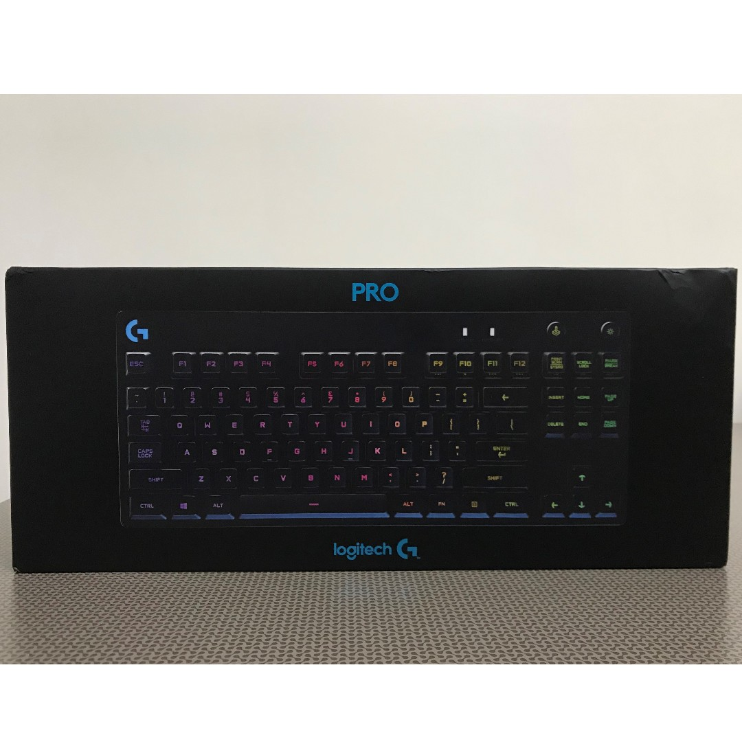 d2a4209c54e Logitech G Pro Mechanical Gaming Keyboard (RGB), Electronics, Computer  Parts & Accessories on Carousell