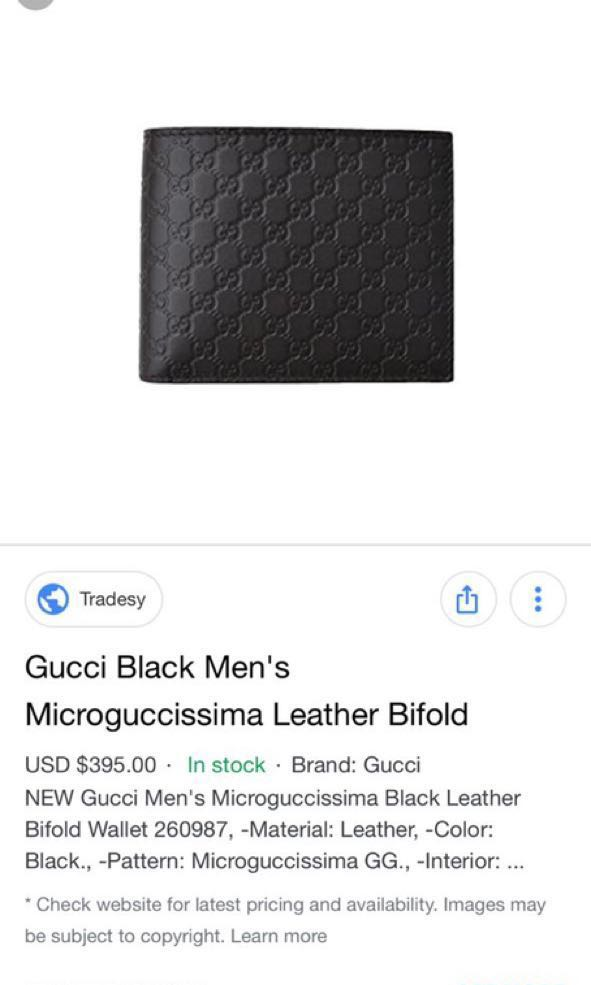 37cb04981c5c New GUCCI leather WALLET FROM Europe Gucci OUTLET
