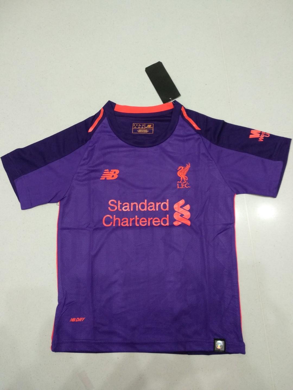 d60ad309b New Liverpool Away Jersey 18 19 Kids Size 24 Medium Boys (8-9yrs ...