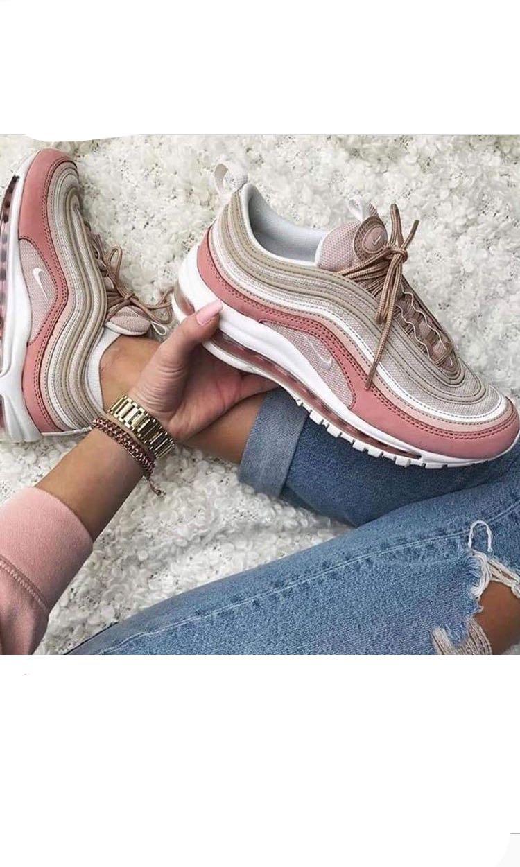on sale 075ec 521e0 Nike Air Max 97 cream pink