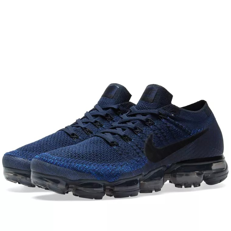 36e6f9b83fbfe NIKE AIR VAPORMAX FLYKNIT COLLIGATE NAVY   BLACK (Limited sizes ...