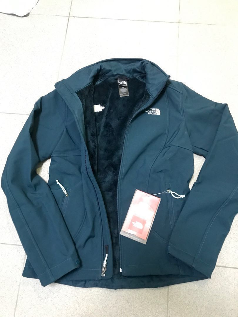 3460ba416 North Face Chromium Thermal Female Jacket Size S wind water proof turquoise  green