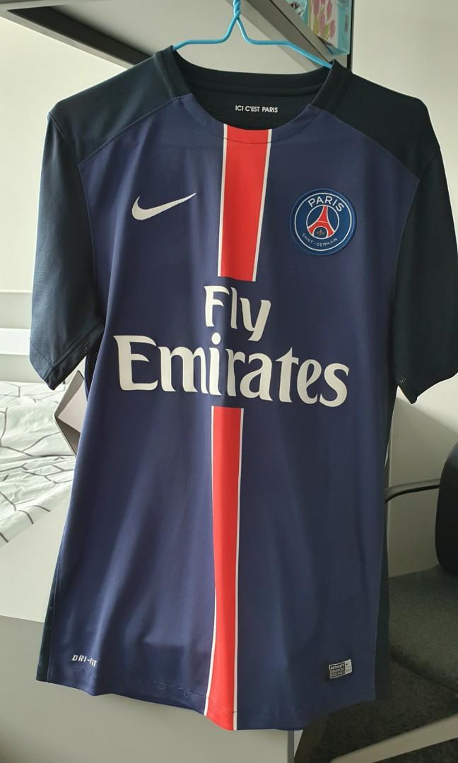 save off be541 7a017 Original PSG Ibrahimovic jersey