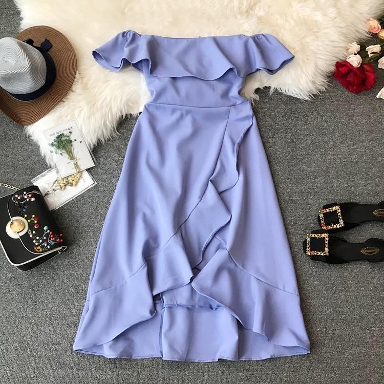 6637a125e4ab po  off shoulder frill dress