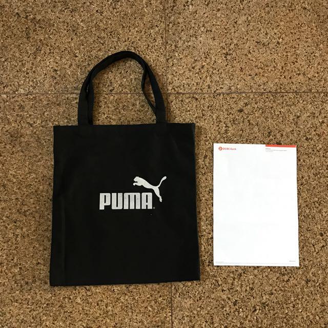 300442ffa98 Puma Tote Bag, Sports, Sports Apparel on Carousell