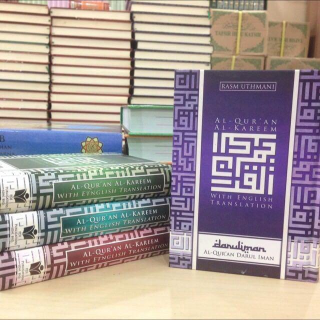 Quran (English translation & Tagging), Books & Stationery