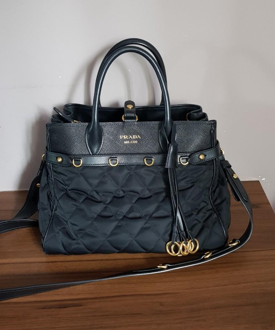 d49a401c50d RARE Prada Tote Bag