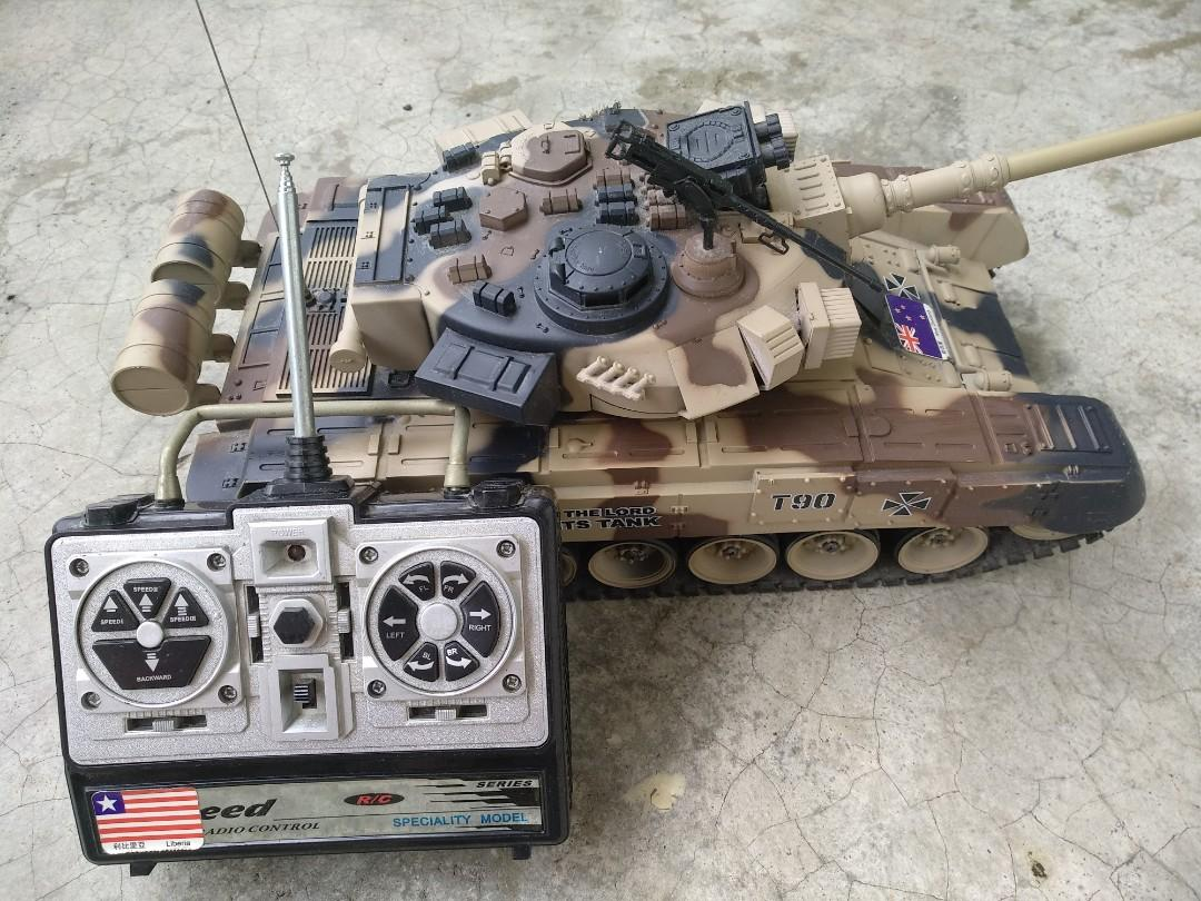 RC Battle Tank T90 BB Bullet on Carousell