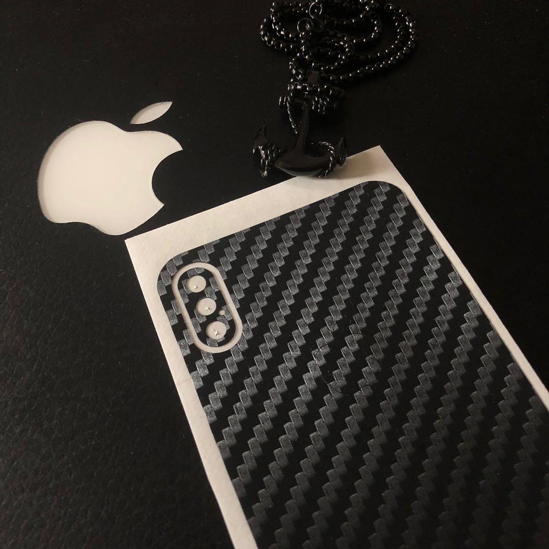Slickwraps Carbon Fiber Skin for the Iphone X