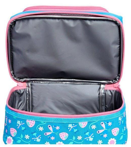 SMIGGLE Double Decker into the Woods Lunch Box [Fox]