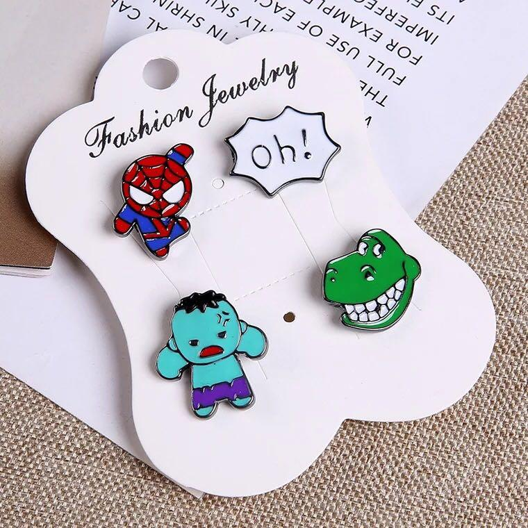 Spider-Man Enamel Pin, Design & Craft, Others on Carousell