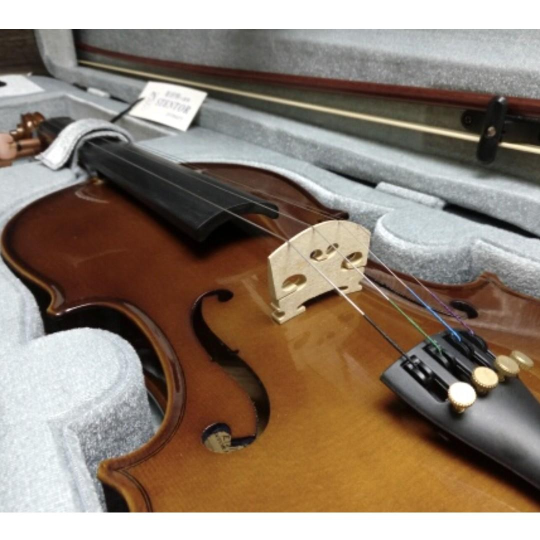 Stentor 4/4 Violin 全新英國實木手工小提琴