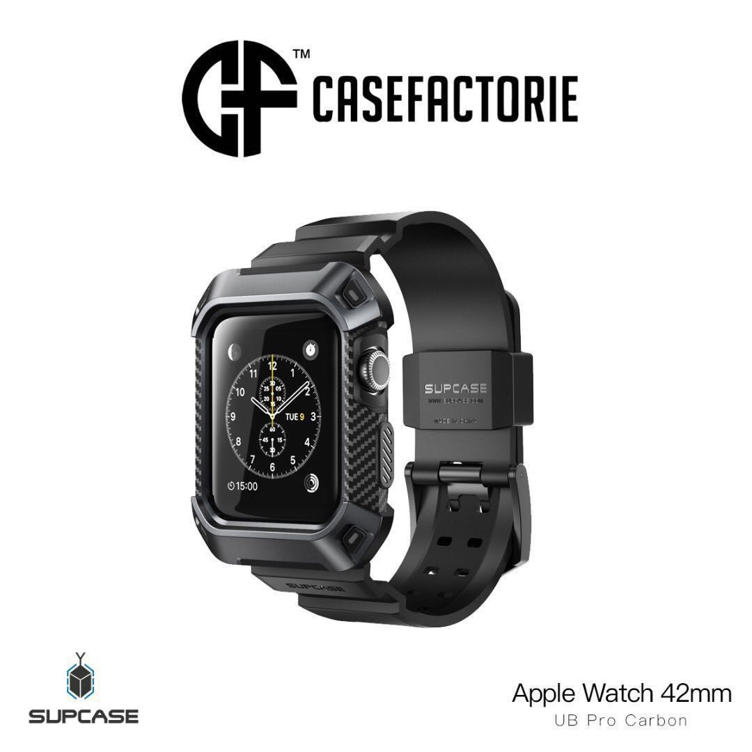 sports shoes 98db8 53528 Supcase Ub Pro V2 Wristband Case Apple Watch Series 3 42mm