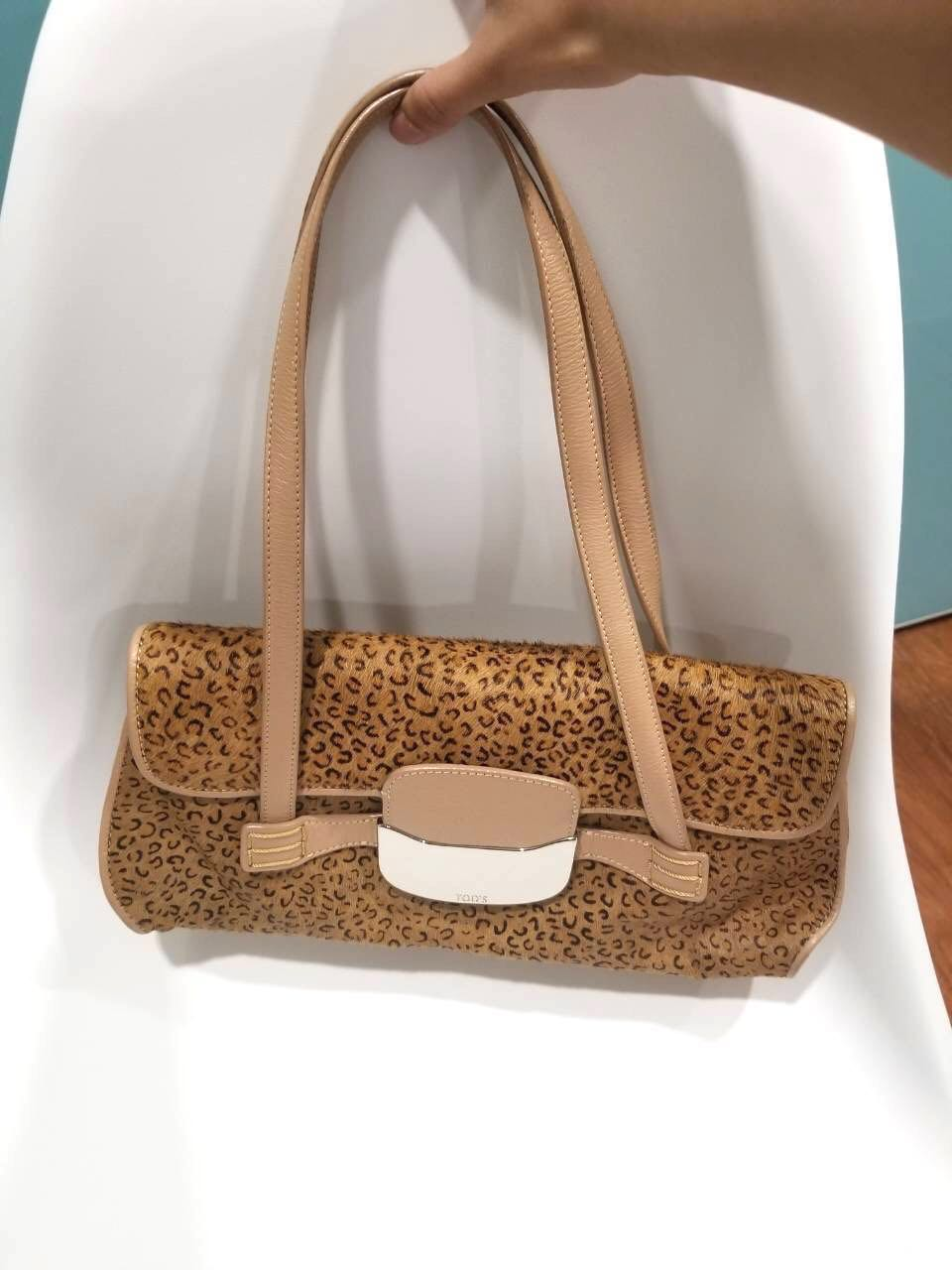 tod s horsehair printed bag 4a9a39142bcdc