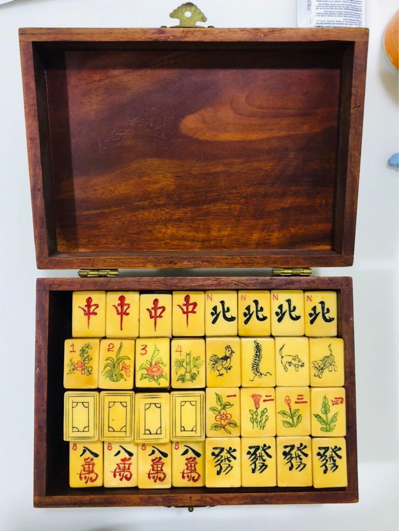 Sets vintage sale mahjong for Vintage M.S.