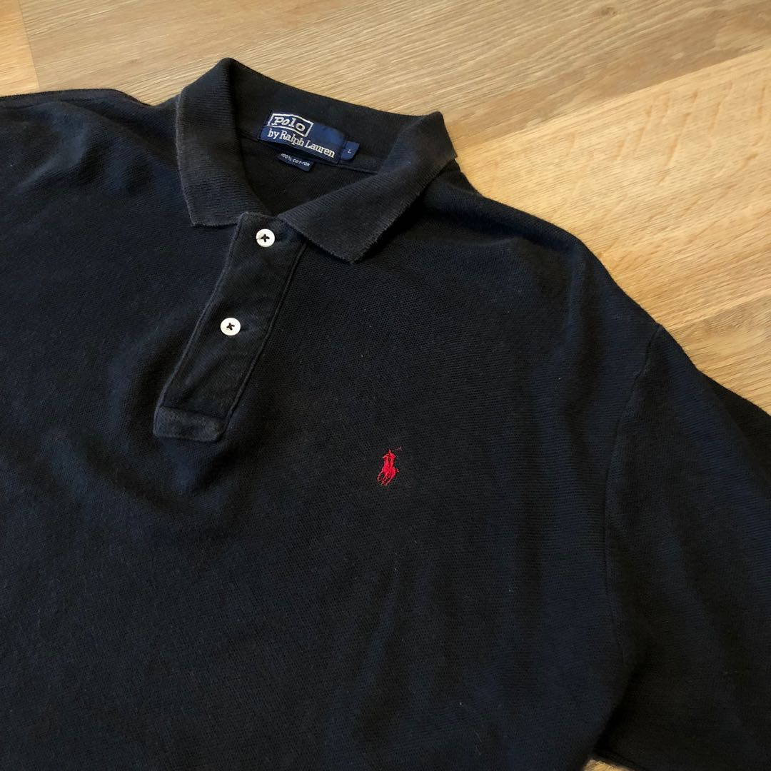89025171 Vintage Ralph Lauren Polo Shirt Size L, Men's Fashion, Clothes, Tops ...