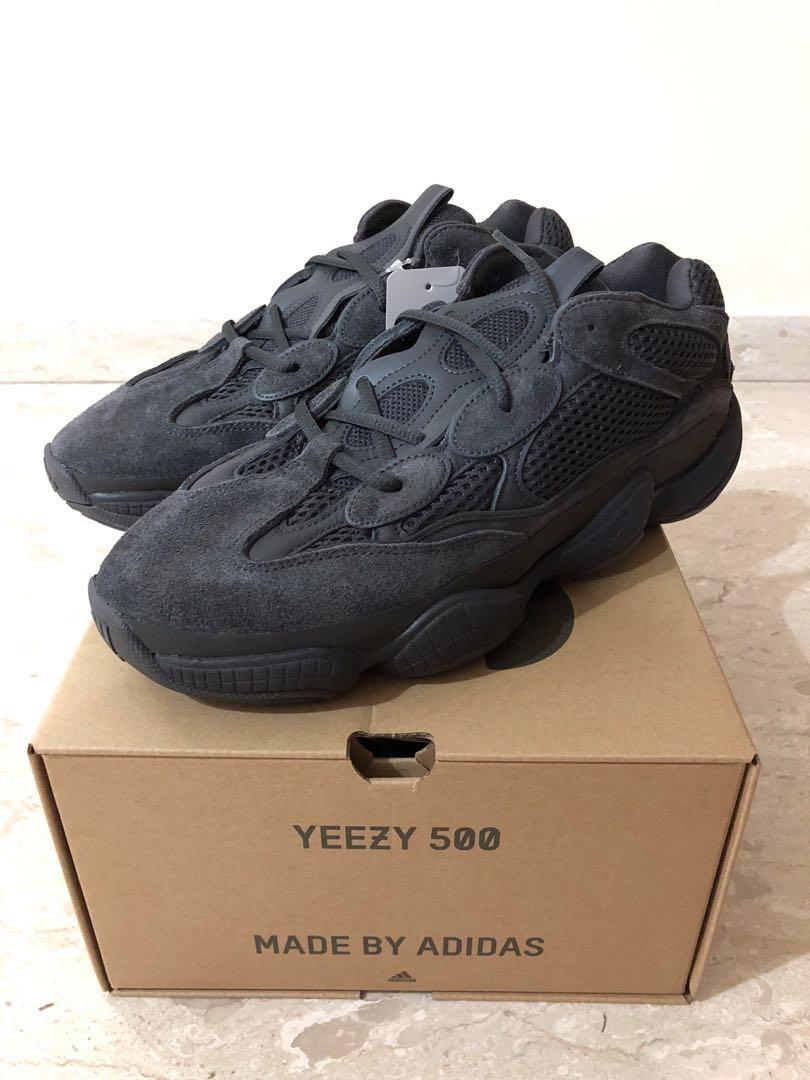 22d5583e0eb93 Yeezy 500 Utility Black US 10